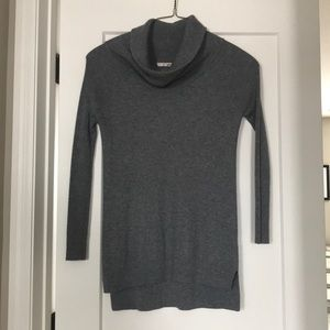 Gray cowl neck sweater by LA Made